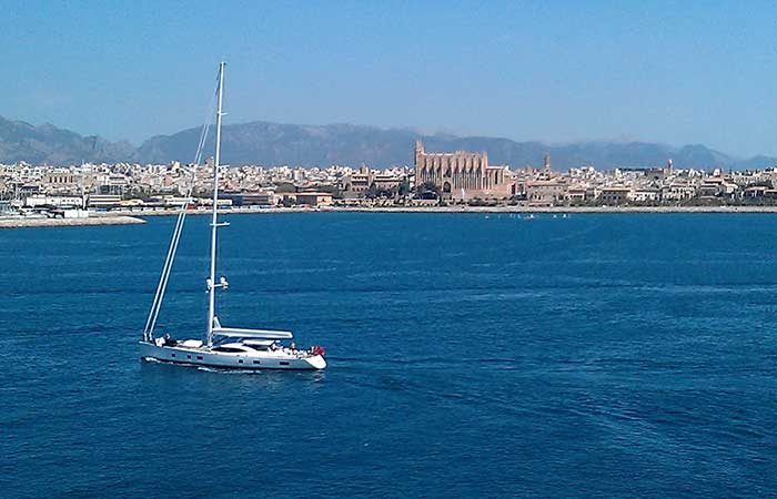 Palma from the Sea