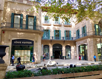 Louis Vuitton in Palma